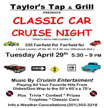 Taylors Tap & Grill Car Show